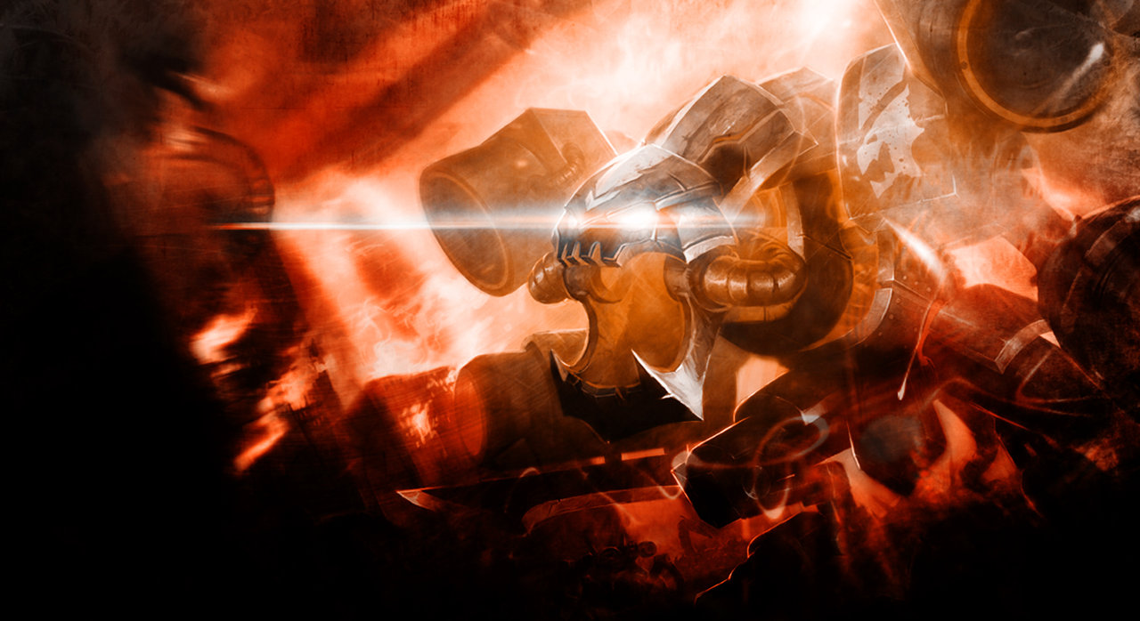 Battlecast Prime Chogath Wallpaper   Splash Edit by TheLtColonel on 1280x698