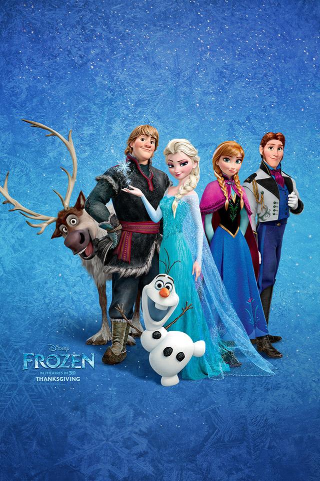 Frozen roles iPhone 4s Wallpaper Download iPhone Wallpapers iPad 640x960