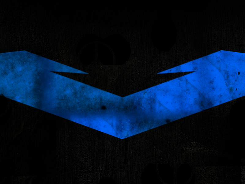 Nightwing Logo Wallpaper Nightwing banner background by 800x600