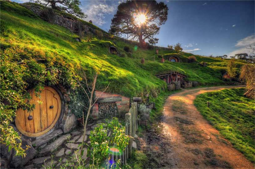 49 The Hobbit The Shire Wallpaper On Wallpapersafari