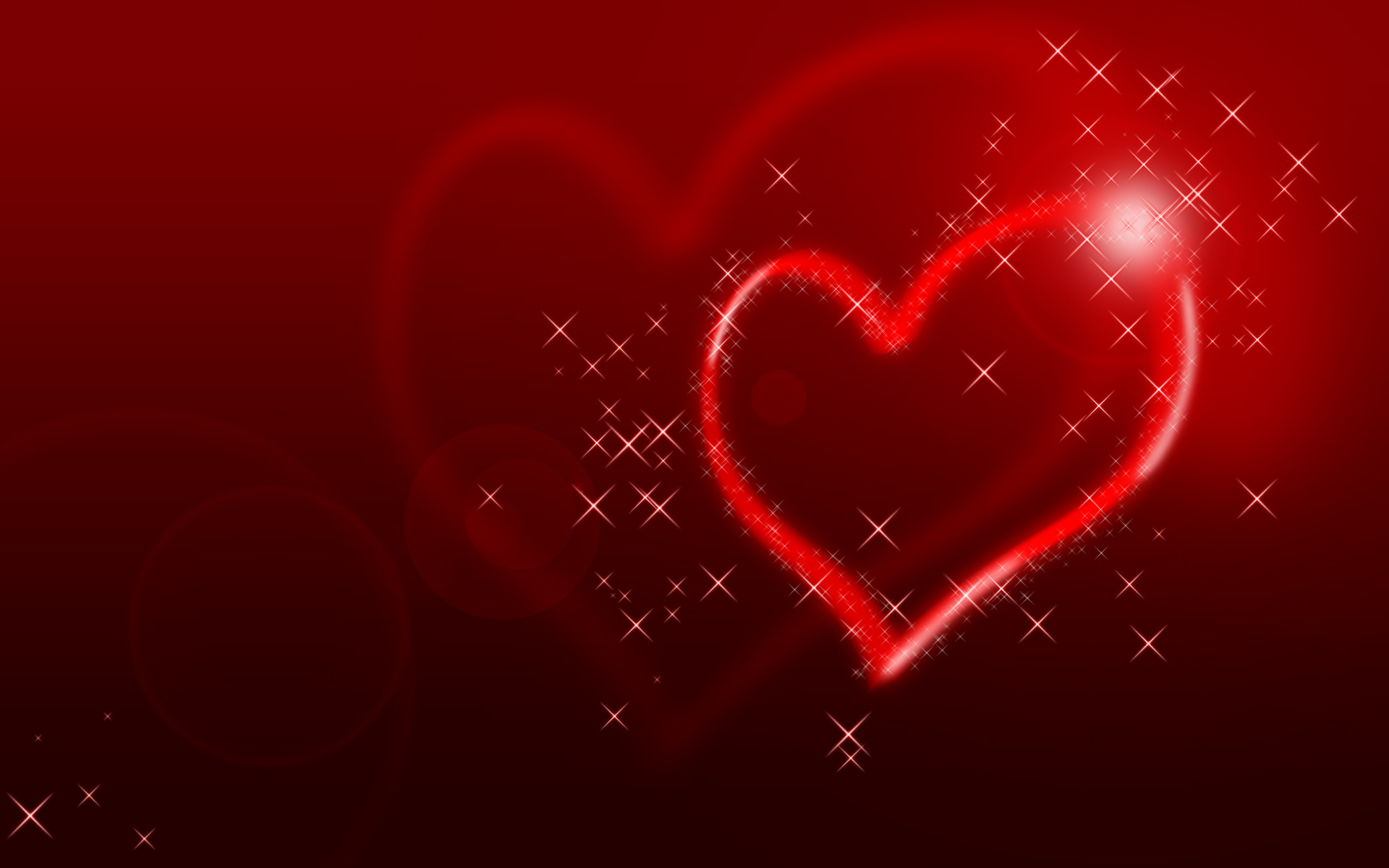 Glittering Heart Wallpapers HD Wallpapers 1920x1200