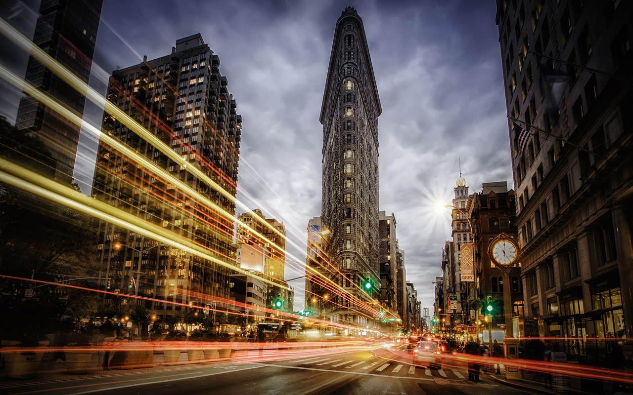 Flatiron Building New York wallpaper 19170 1280x800
