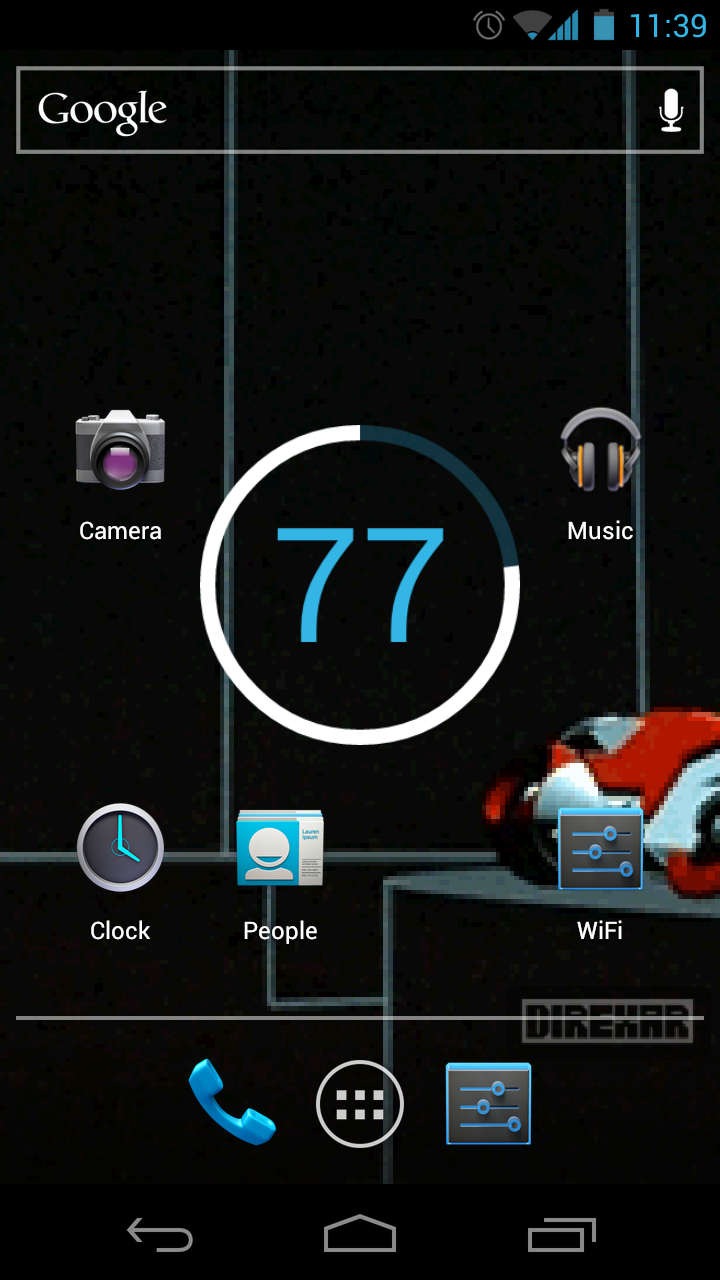 Free Tron Animated GIF Live Wallpaper ICS Android