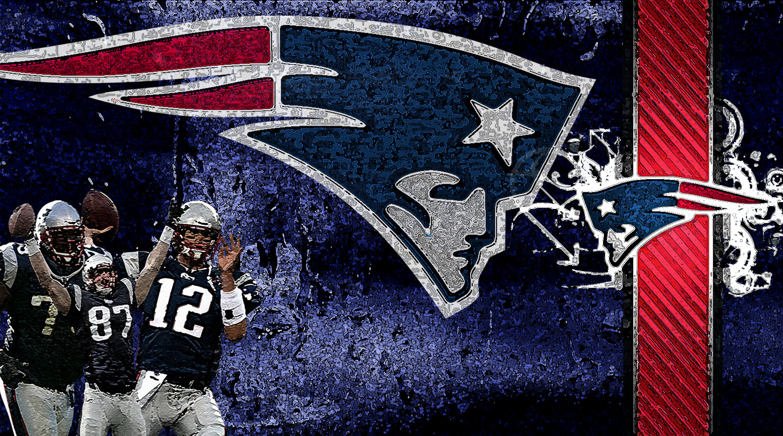New England Patriots Wallpaper by cthebeast123 1600x891