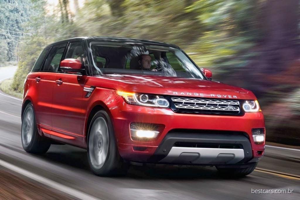 Red Range Rover Wallpaper  WallpaperSafari