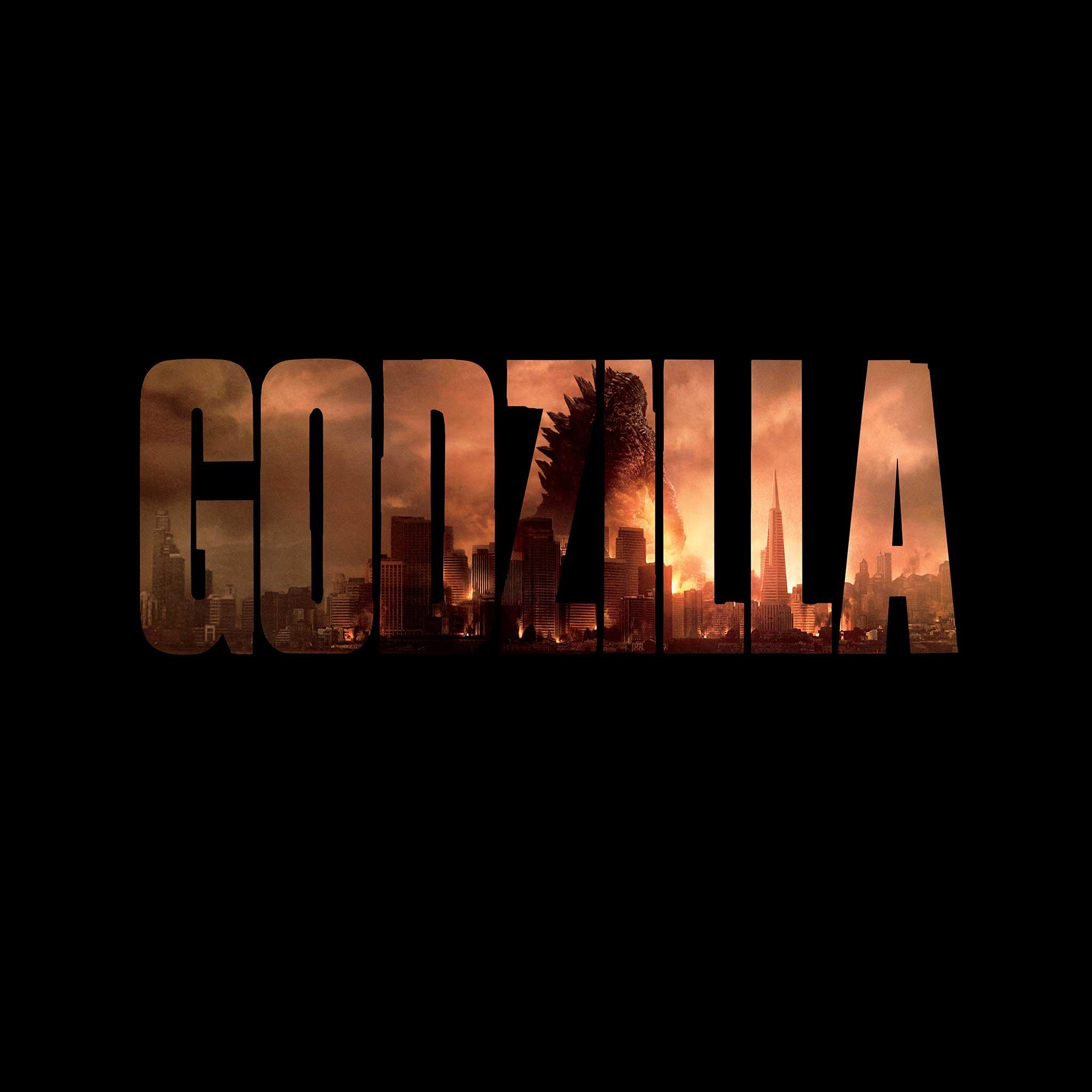 Godzilla Movie 2014 HD iPhone iPad Wallpapers 2048x2048