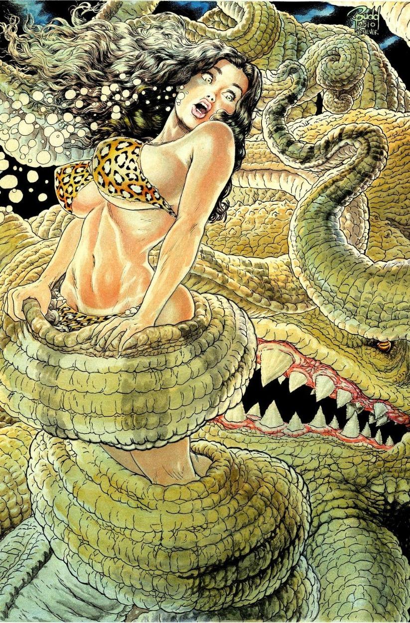 Cavewoman vs The Sinister Six   Battles   Comic Vine 823x1250