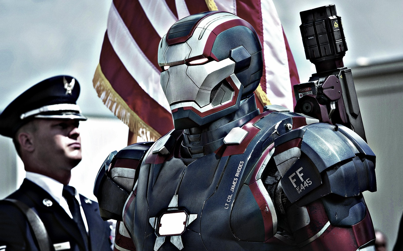 Iron Patriot in Iron Man 3 Wallpapers HD Wallpapers 1280x800