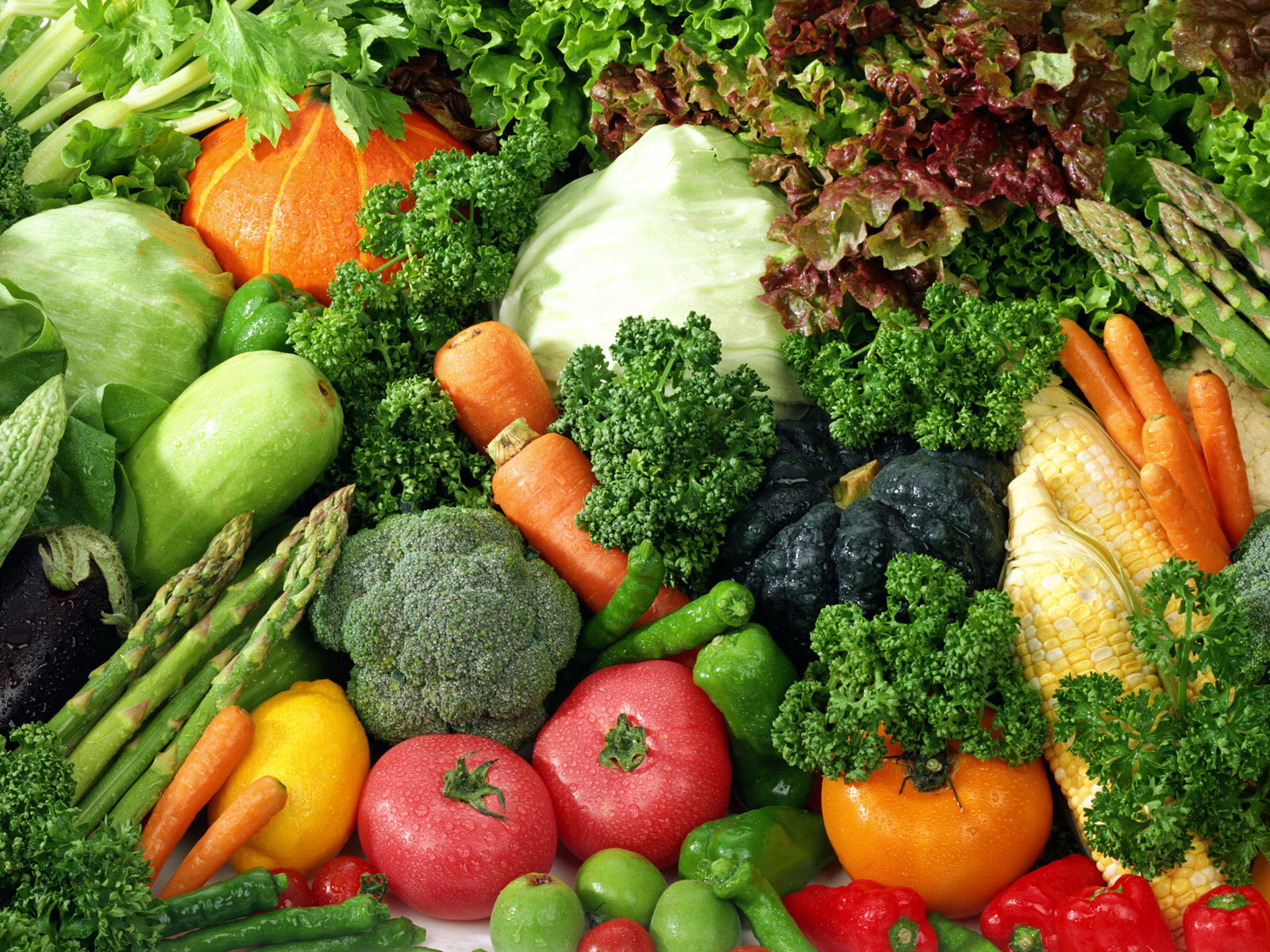 HD Wallpapers Vegetables 1600x1200