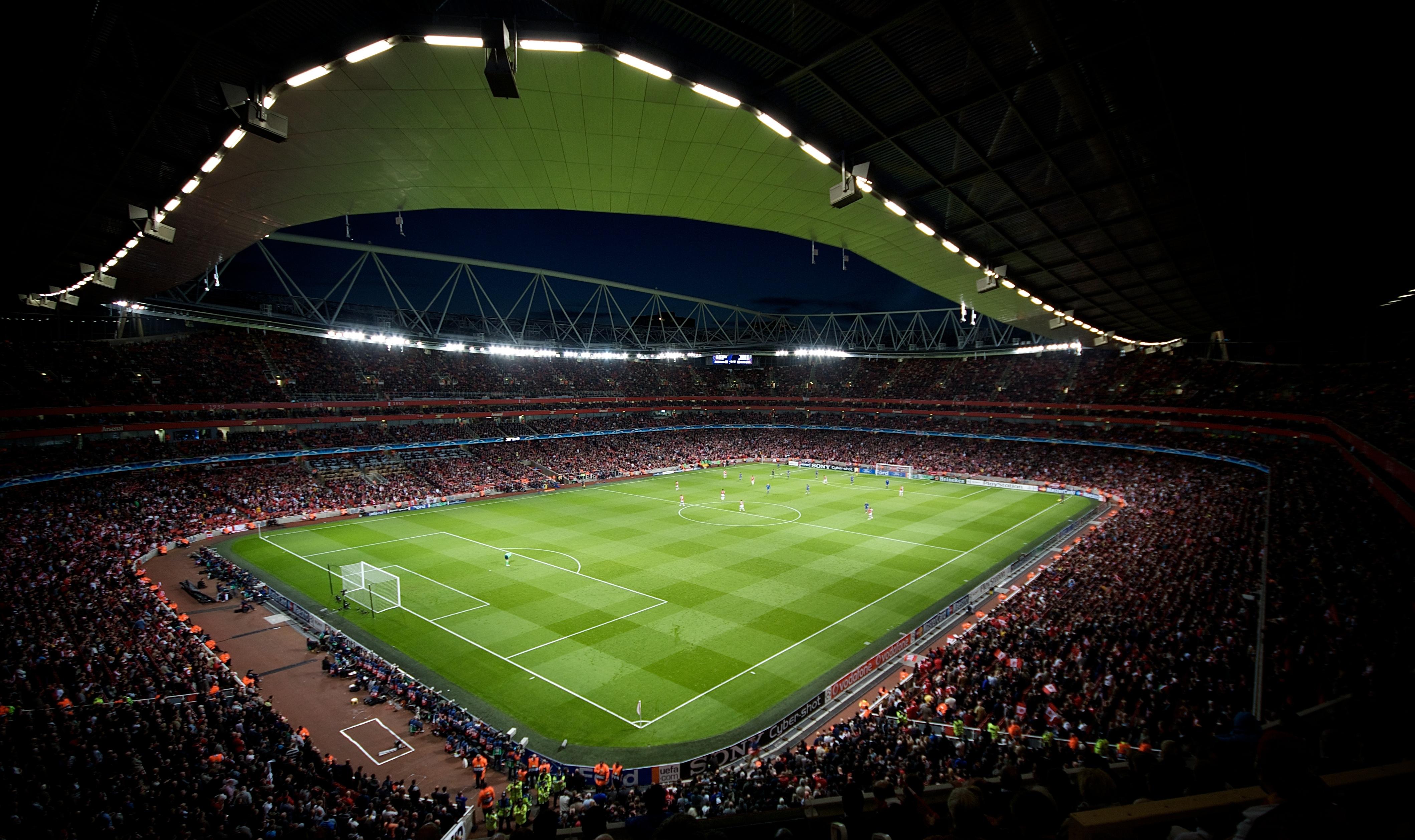 Champions League Wallpaper Champions League Emirates Stadium 4238x2517