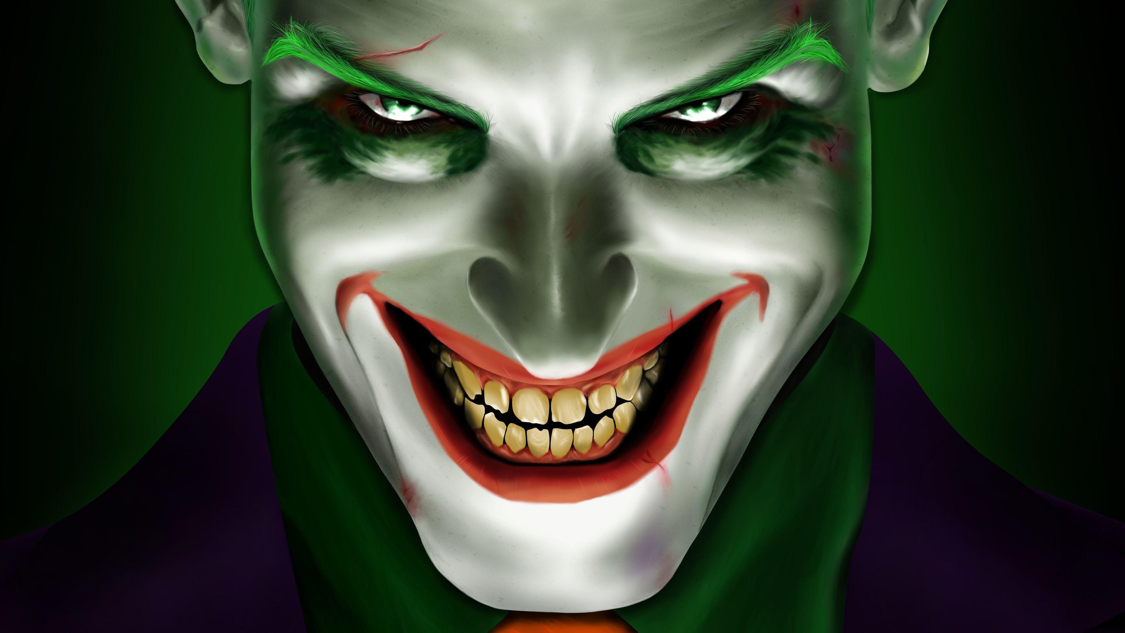 18 Joker Smile Wallpapers On Wallpapersafari