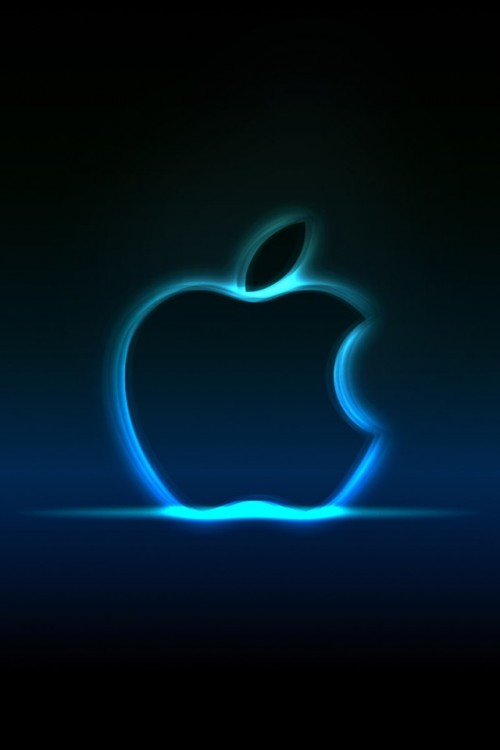 Iphone 4s Wallpaper iPhone 4S Apple Logo 500x750