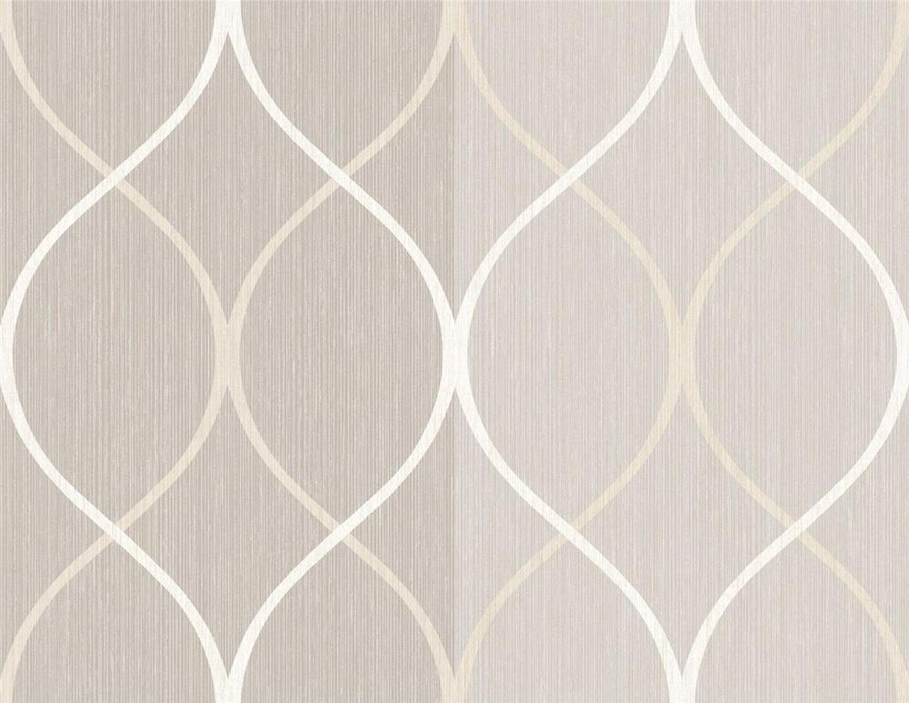 Wallpaper Modern Tone on Tone Grey Gray Stripe with Trellis Silver Off 1000x773