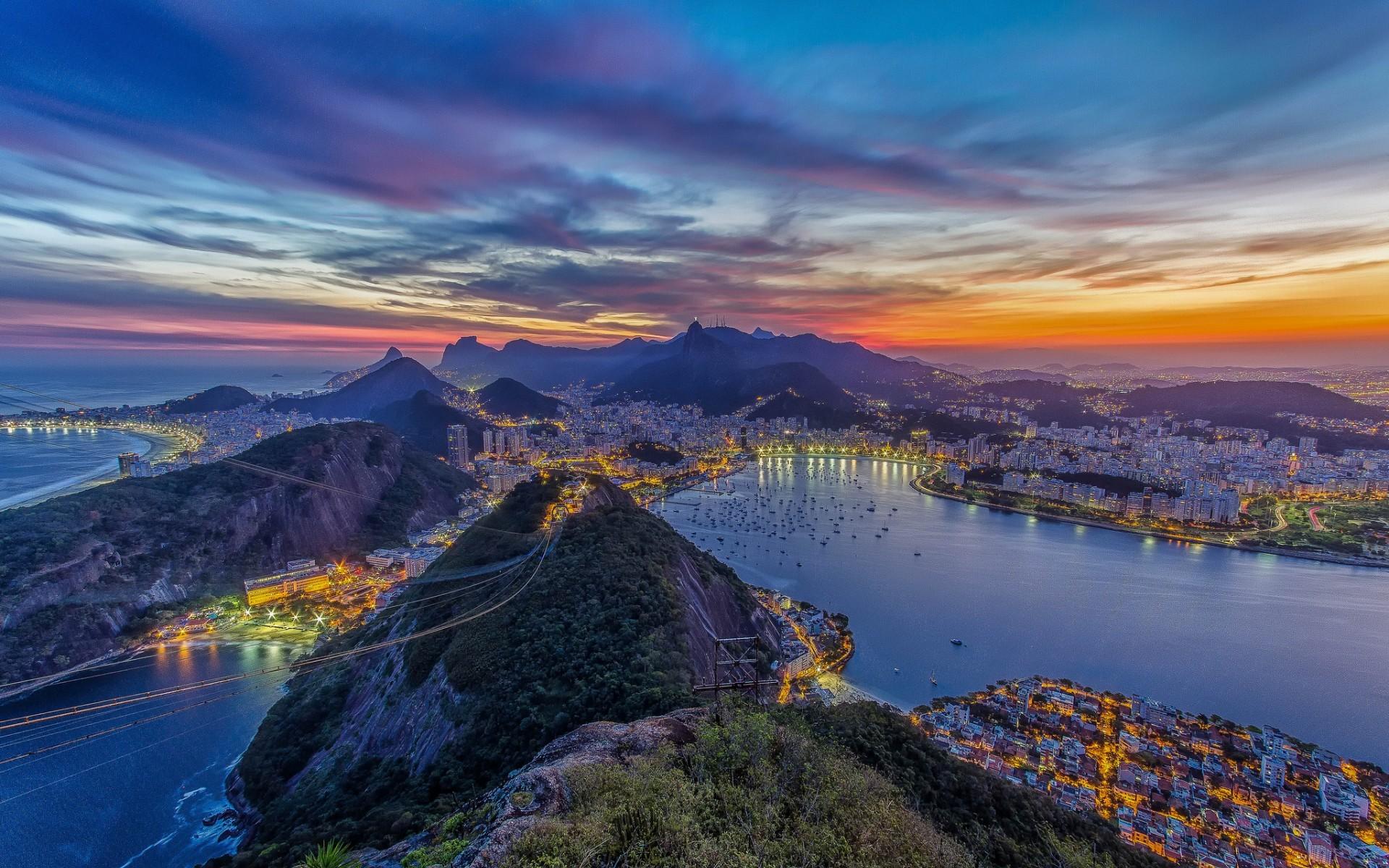 Rio De Janeiro Wallpaper Desktop PC 12952 Wallpaper 1920x1200