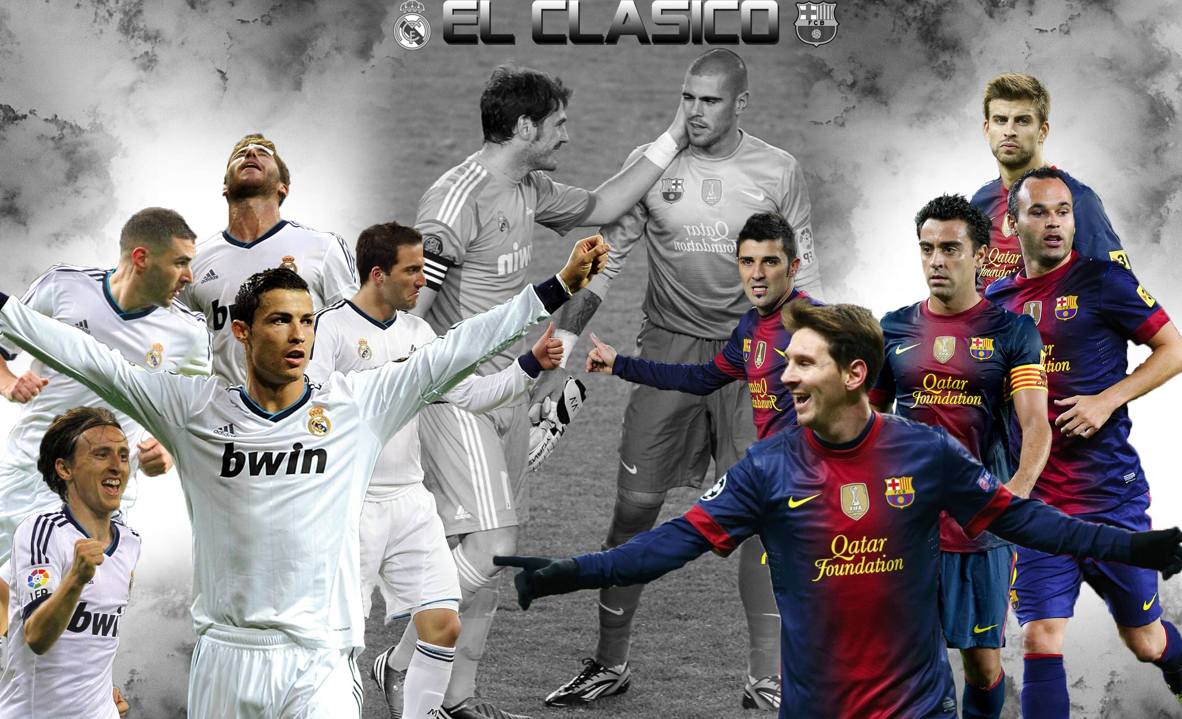 Real Madrid Vs Barcelona Wallpapers 2300x1400