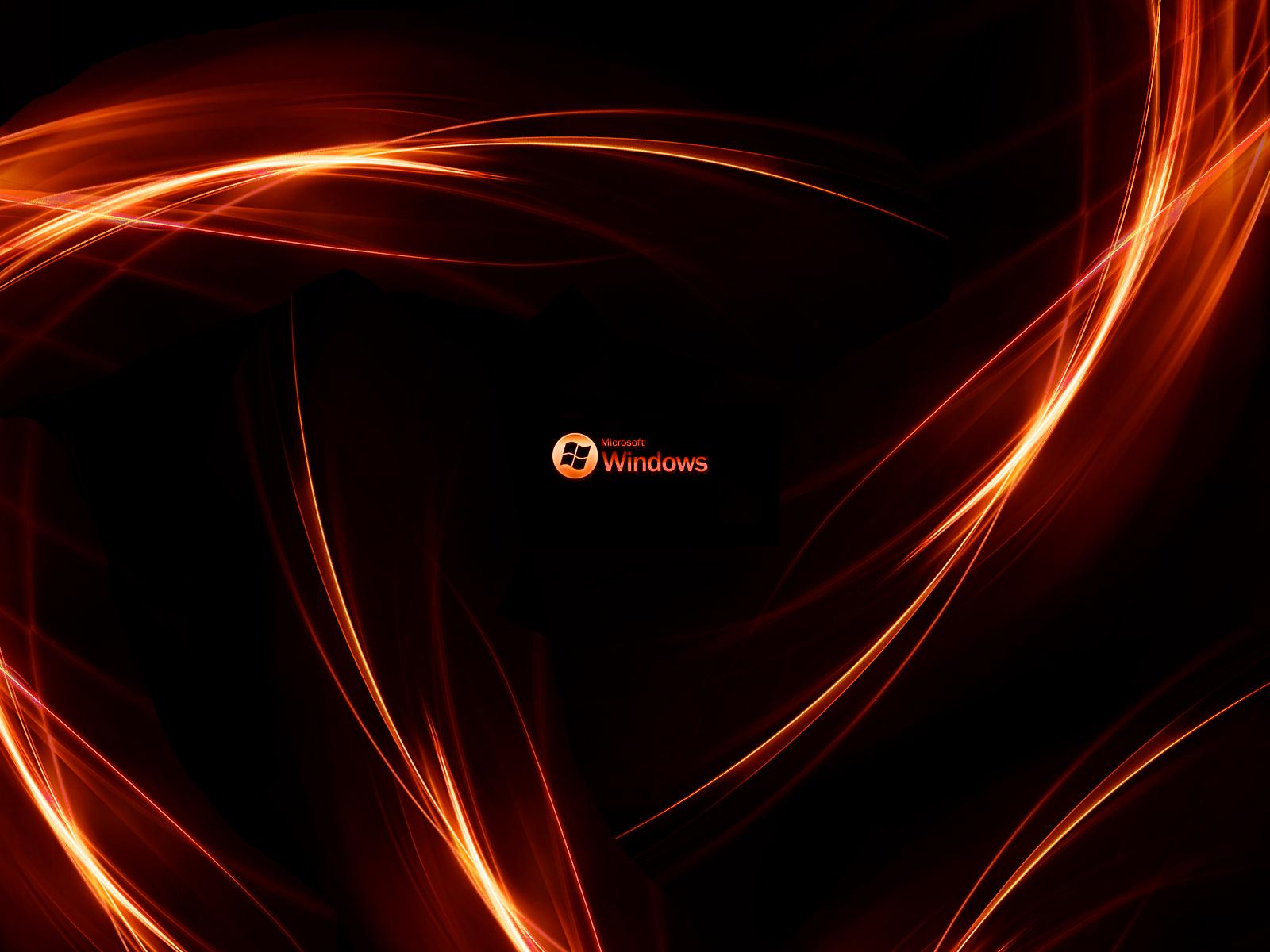 cfe954ec2225 Windows Orange Black Wallpaper 130 1600x1200