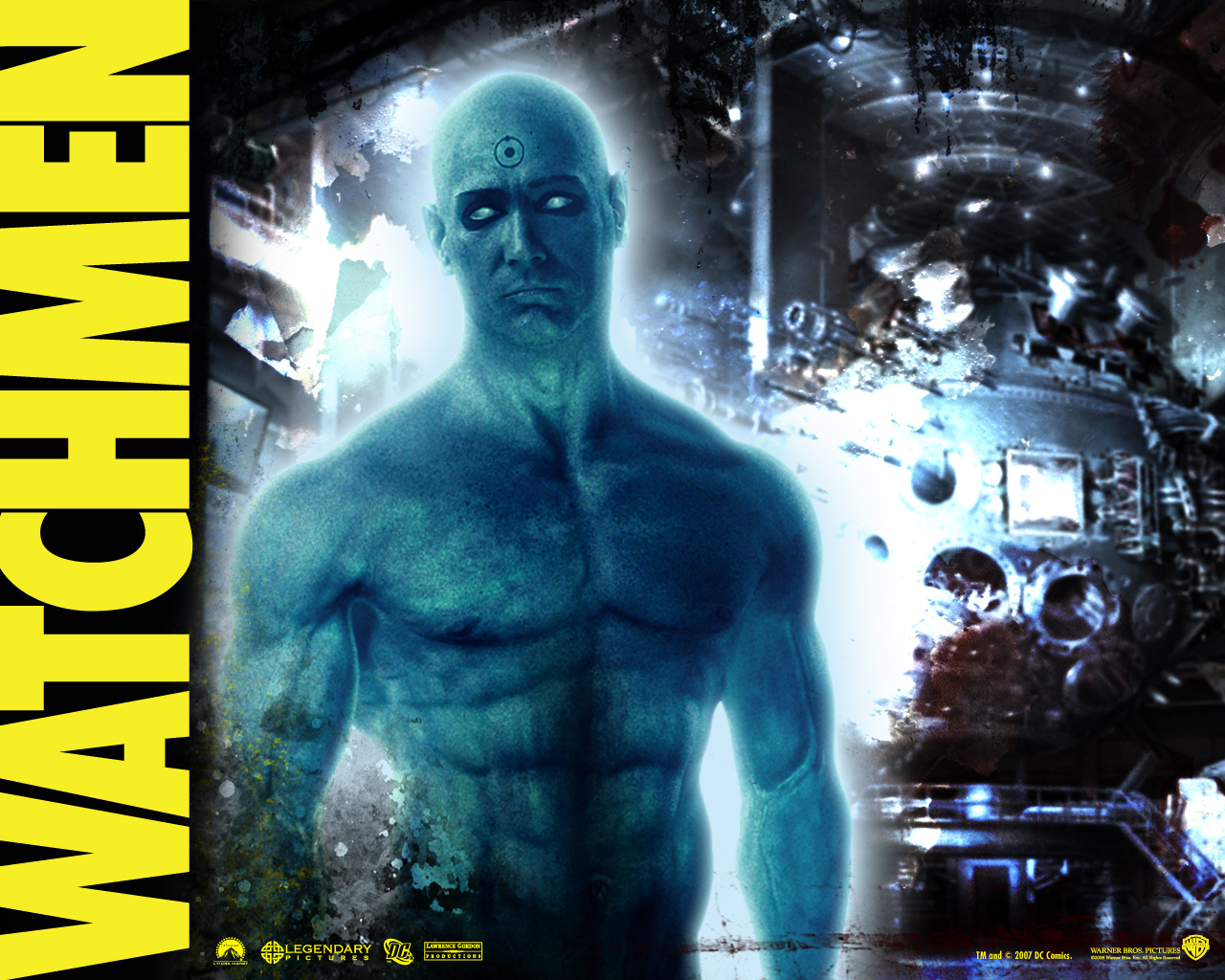 Watchmen Dr Manhattan wallpaper   Animebay Wallpapers 1280x1024