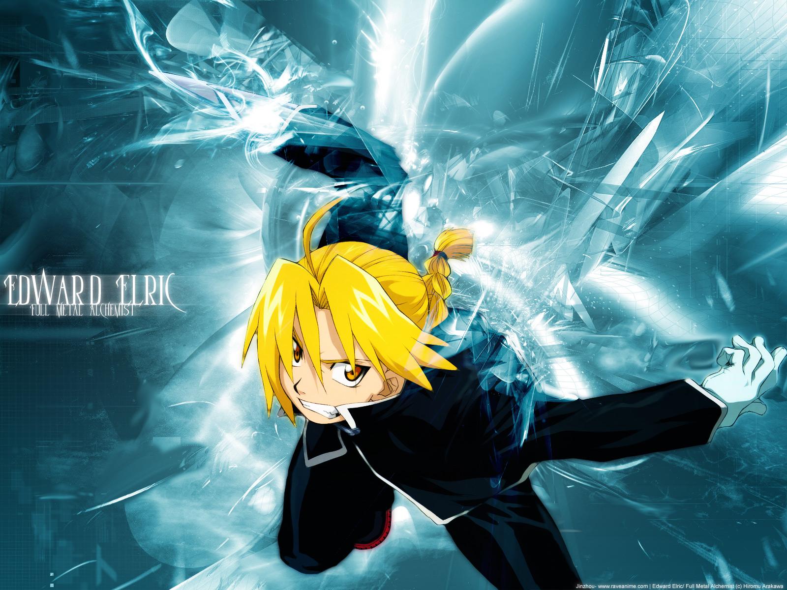Anime Edward Elric Fullmetal Alchemist   Full HD Desktop Wallpaper 1600x1200