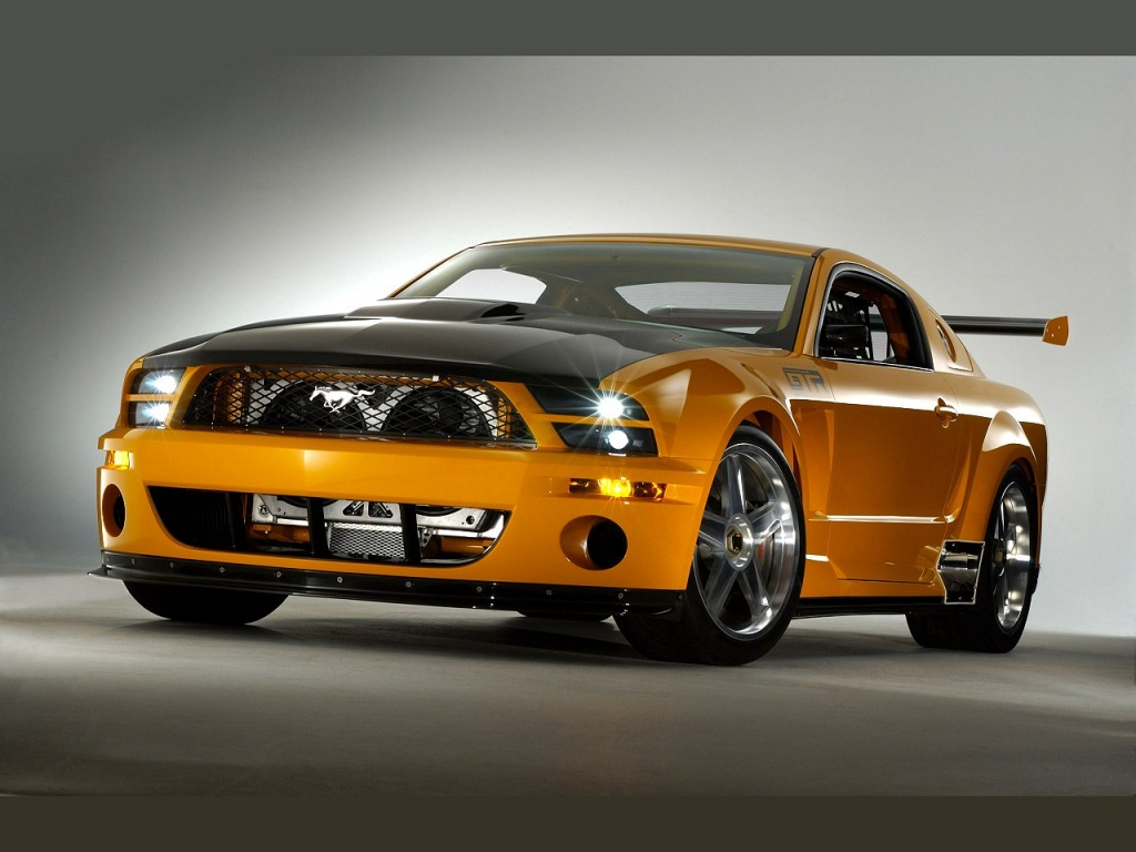 1024x768 Mustang GTR desktop PC and Mac wallpaper 1024x768