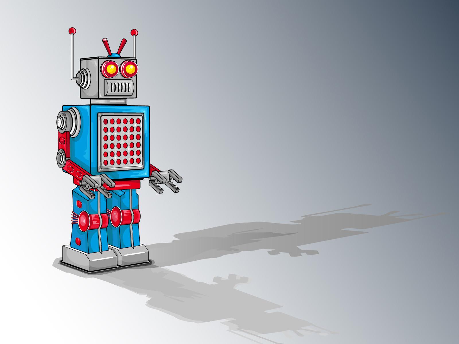 Robot wallpaper robots 584350 1600 1200jpg 1600x1200