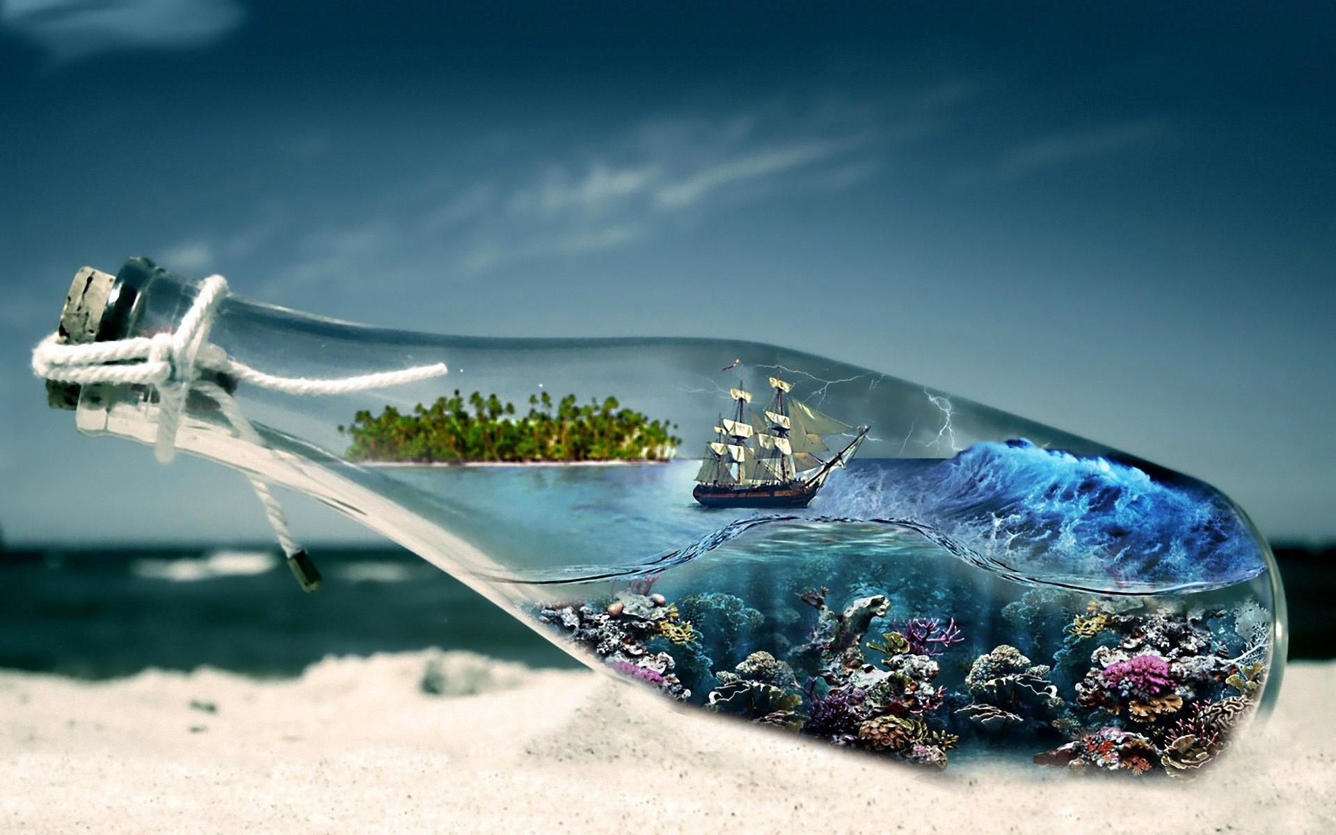 Ship on sand sea wallpaper Wallpaper Wide HD 1920x1200