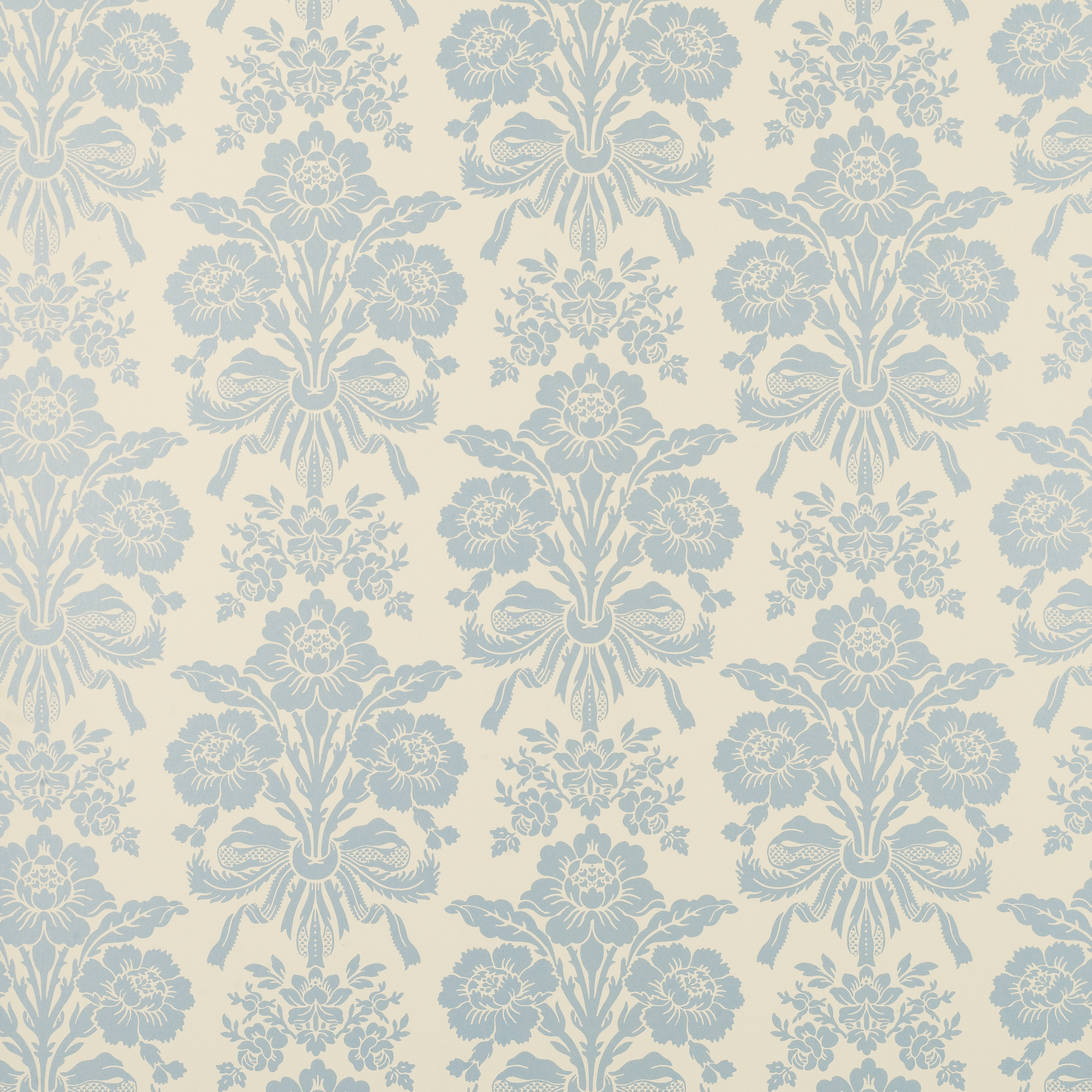 Tatton Duck Egg Damask Wallpaper 2500x2500