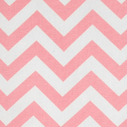 CHEVRON TABLE RUNNER Zig Zag Baby PinkWhite by FinePillowCovers 500x500