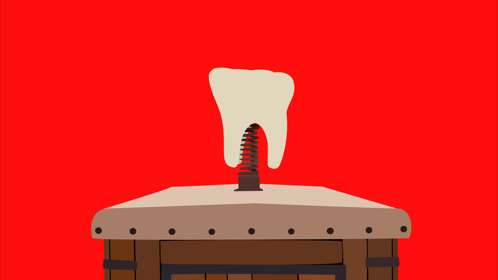 wallpaper tooth wagon simple minimalist wallpapers movies teeth 1920x1081