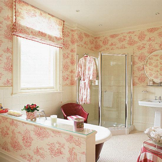 Fabric Wallpaper Toile Wallpaper 550x550