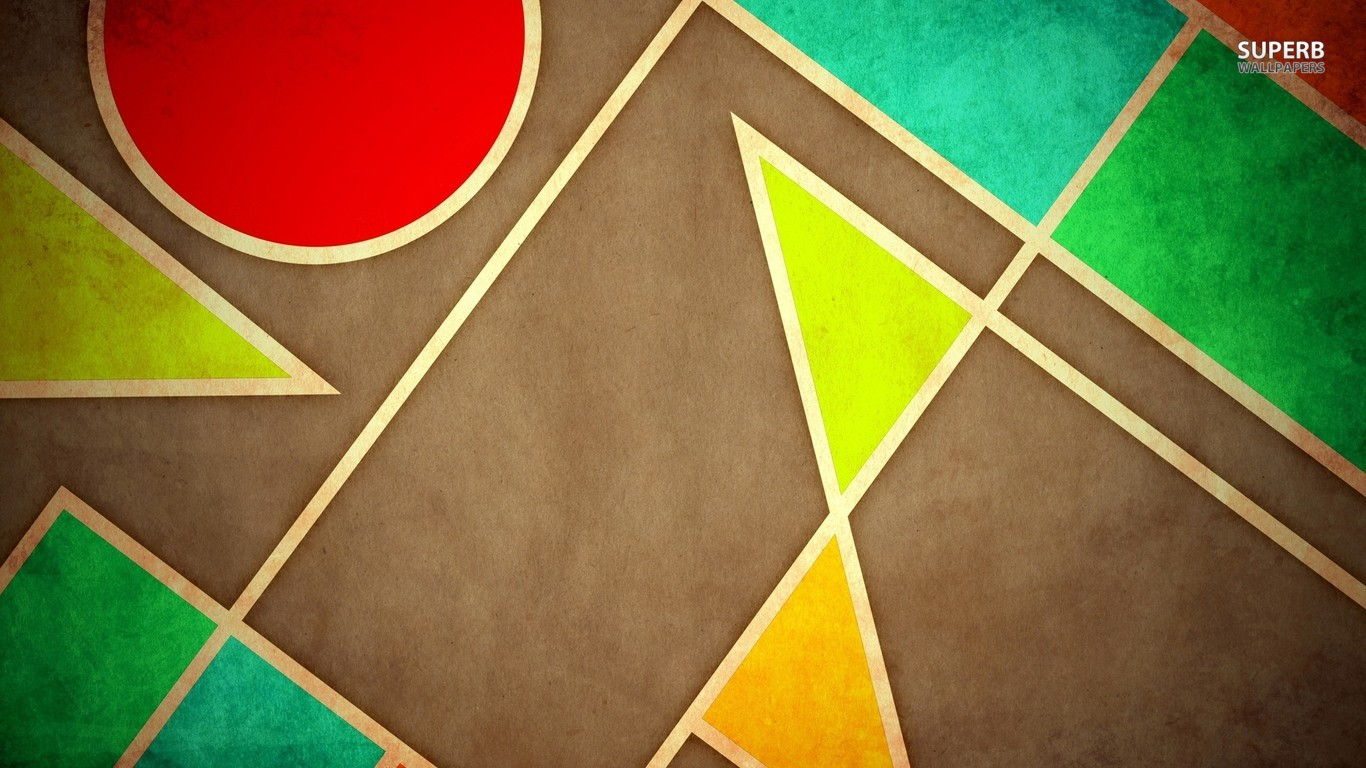 Geometric Wallpaper 17 1366x768