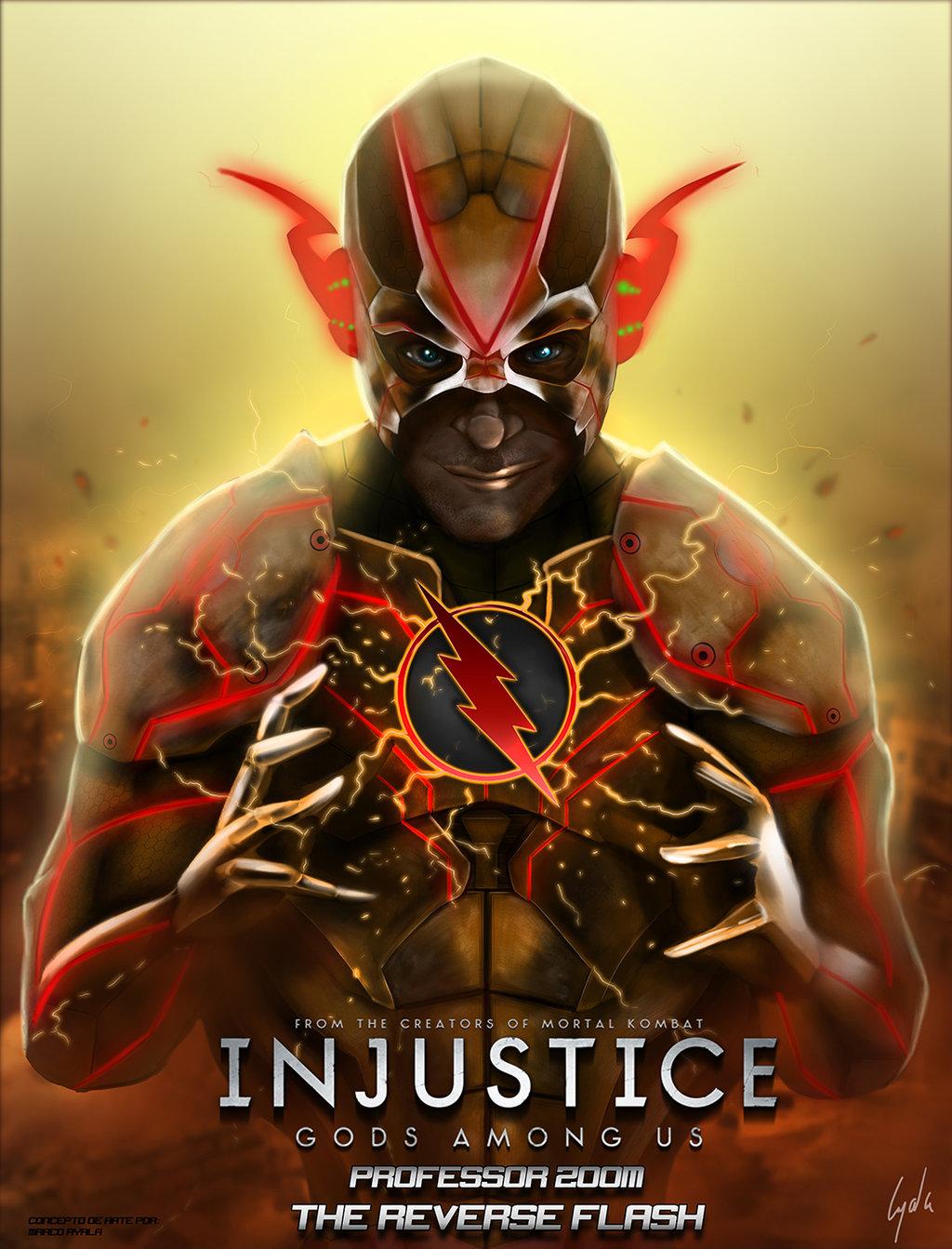 Professor Zoom Injustice Gods Among Us by fosmark13 1024x1343