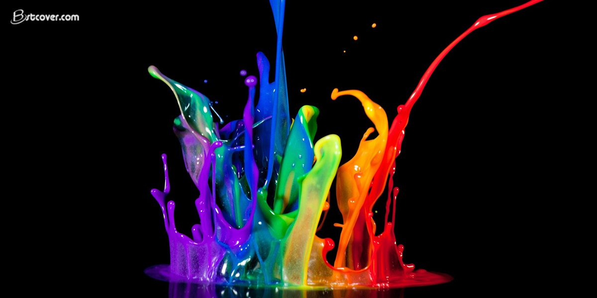 paint colors wallpapers twitter cover photos Bstcover 1200x600