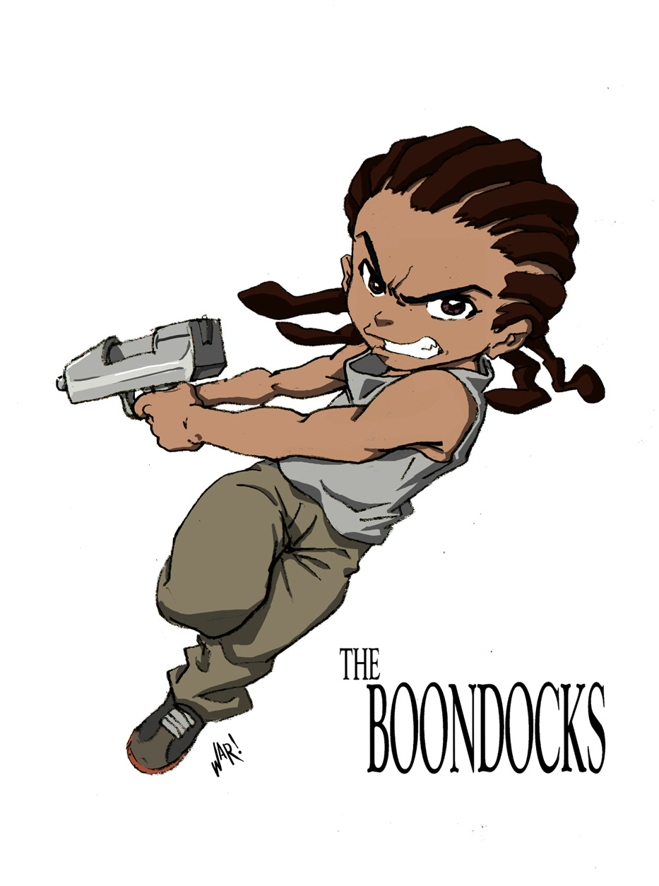 Free Download The Boondocks Wallpaper Hd 933x1254 For Your