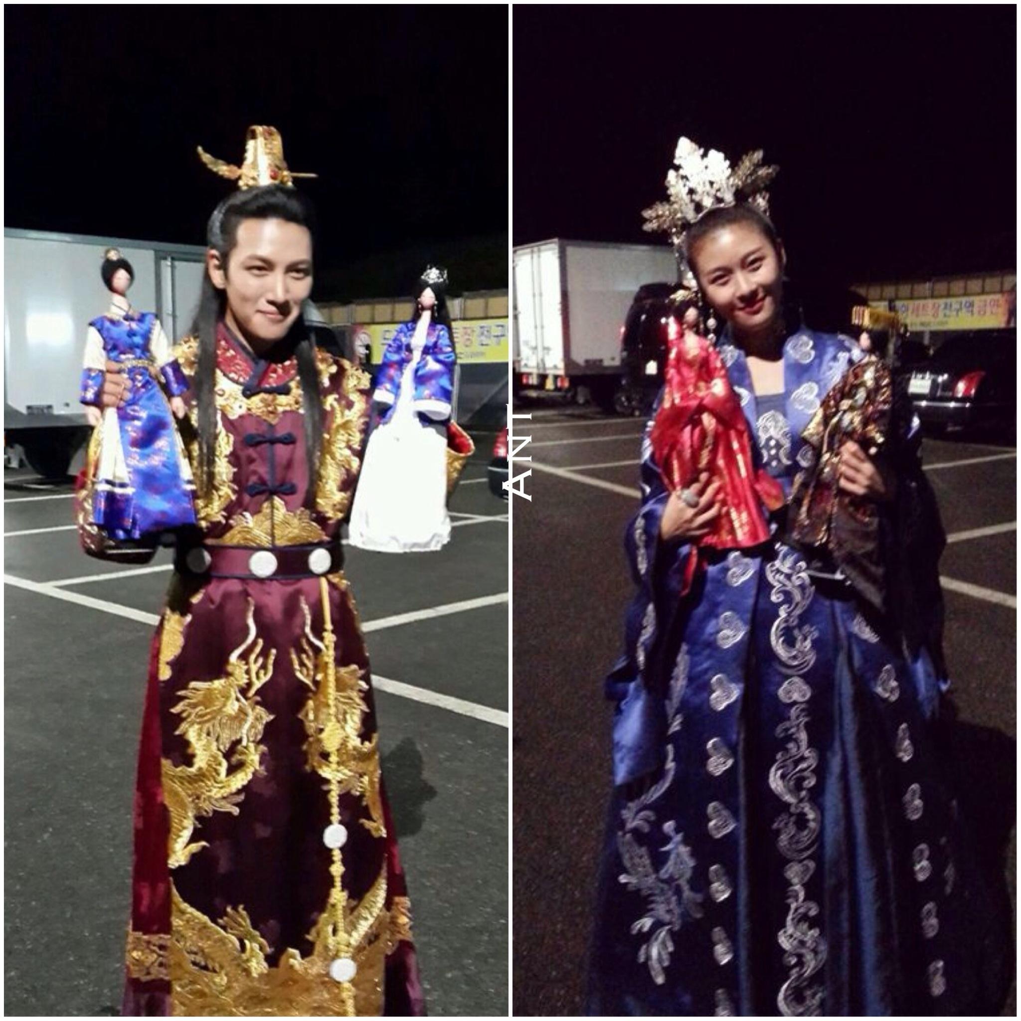 Official] TaNyang Empress Ki Ji ChangWook and Ha JiWon   EK 2048x2048