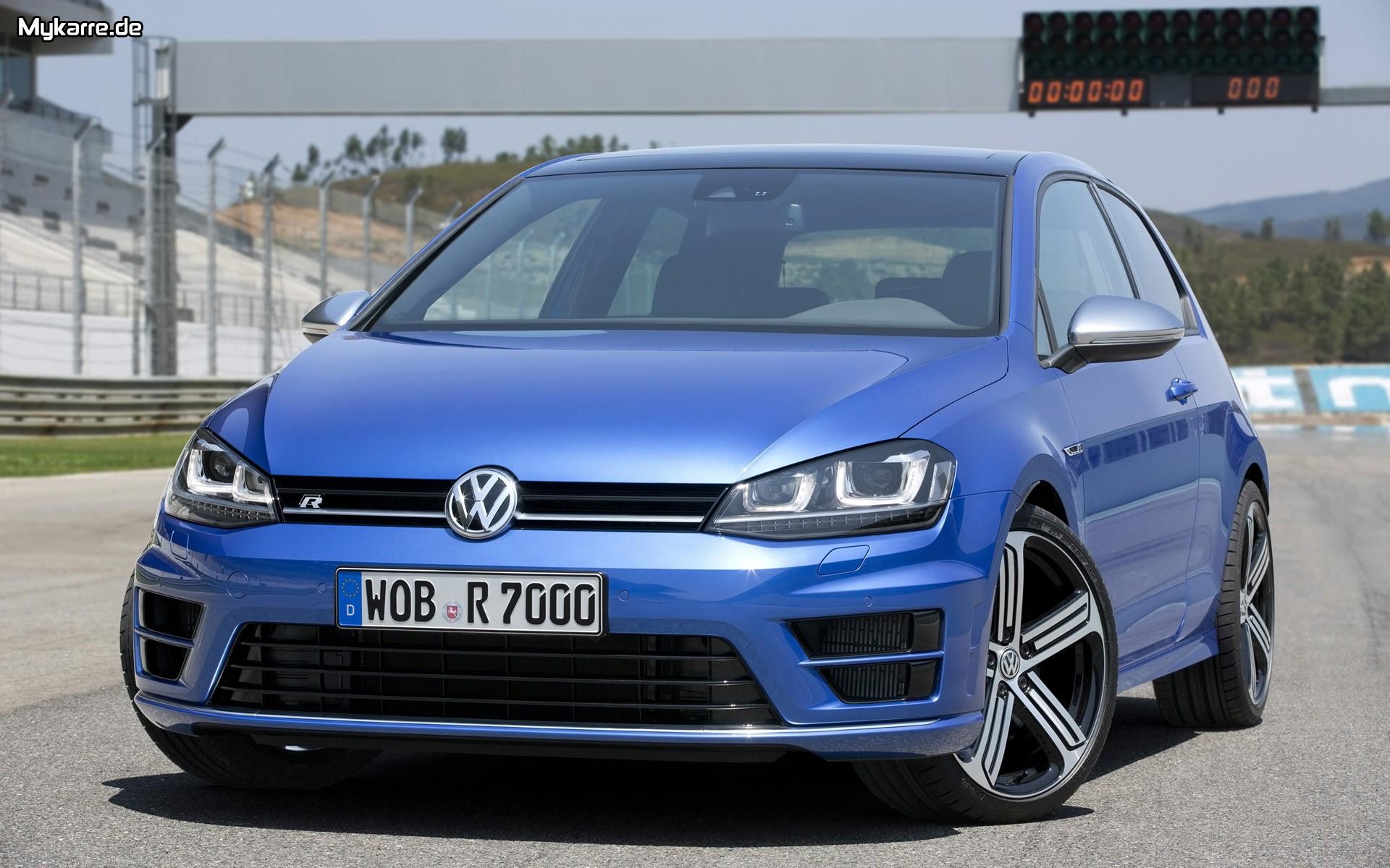 Volkswagen Golf R Wallpaper 2014 Frontansicht Auto Tuning News 1920x1200