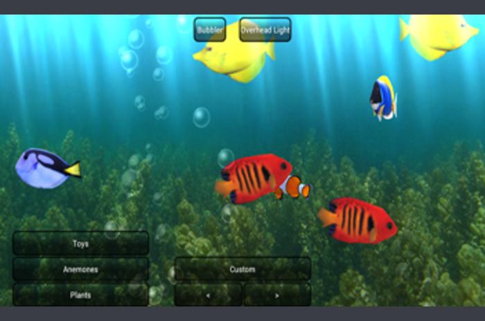 Download the program Aquarium Live Wallpaper Wallpaper for Android 700x464