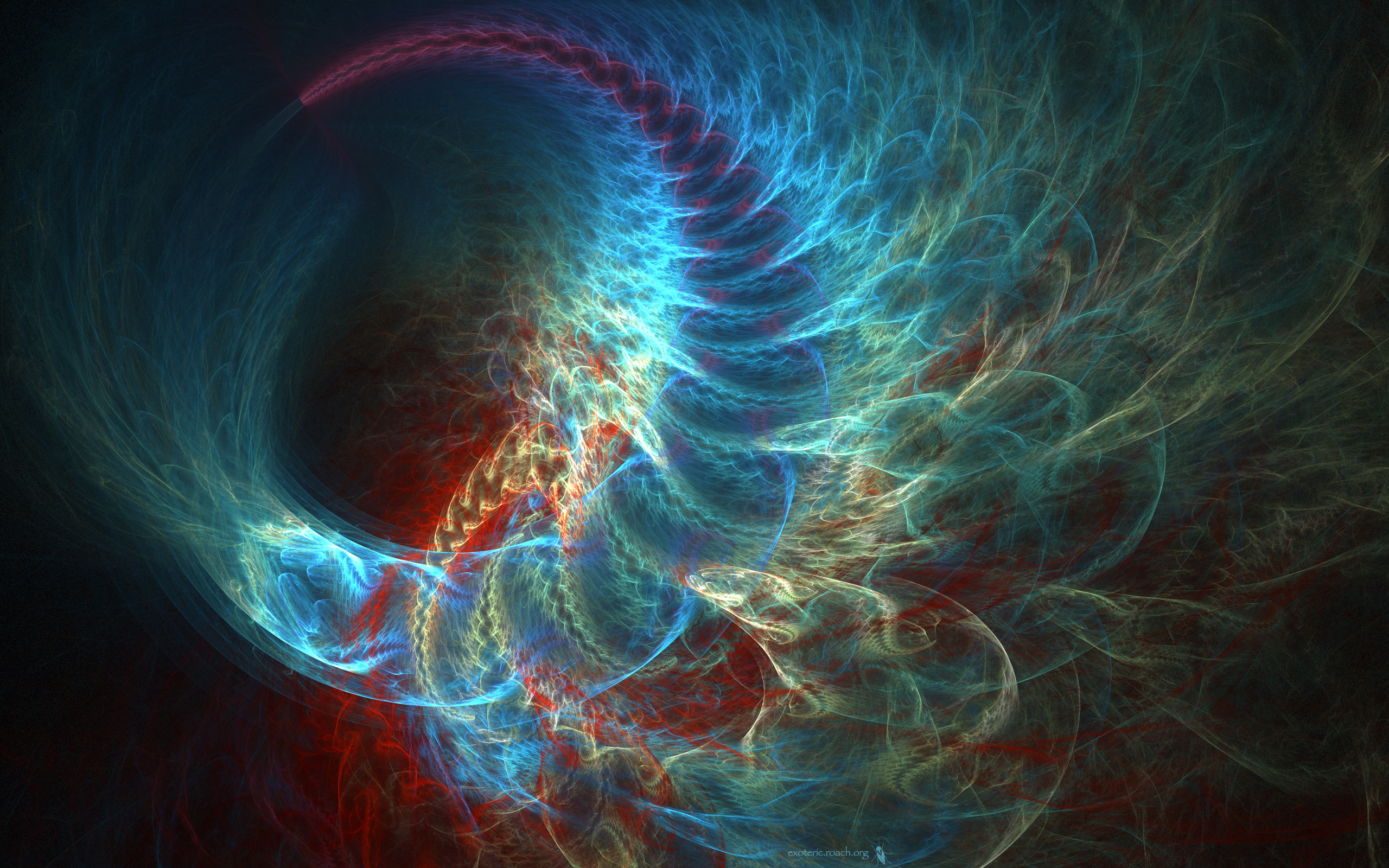 2530 Fractal HD Wallpapers Background Images 2560x1600
