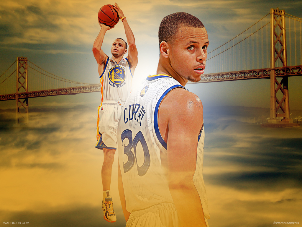 FunMozar Stephen Curry Wallpaper Shooting 1024x768