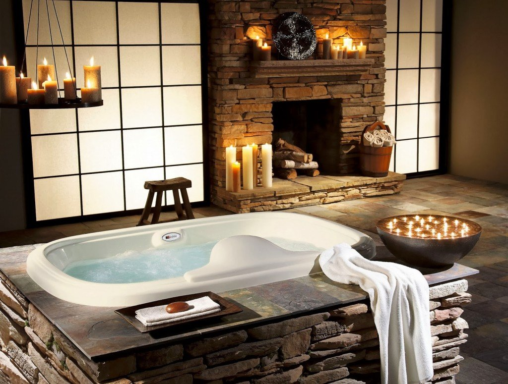 Bathroom and Spa Decor HD Wallpaper design Desktop Backgrounds for 1024x775