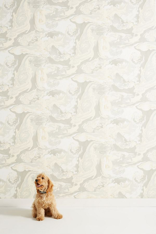 Medici Marble Wallpaper Anthropologie 600x900