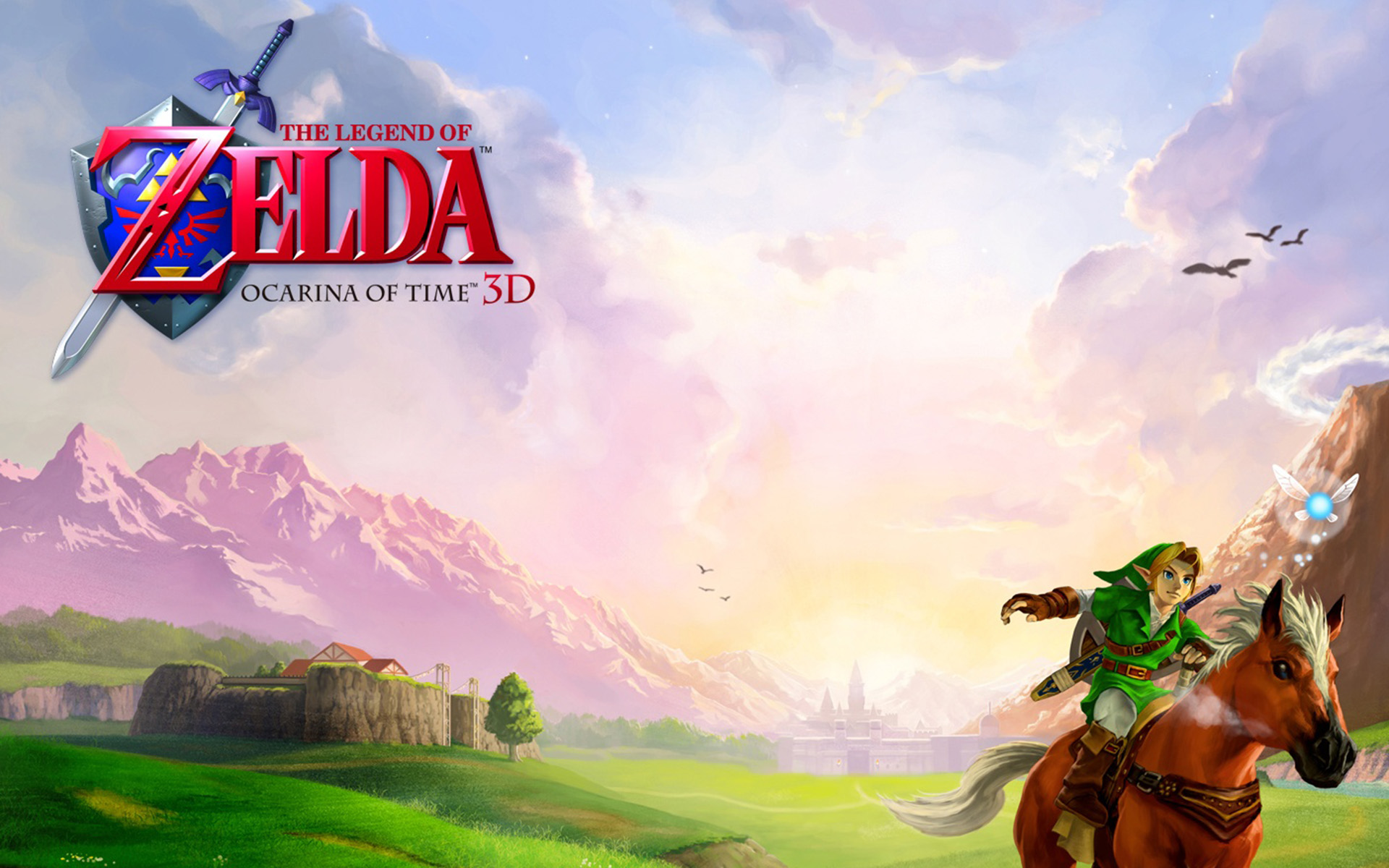 Free Download The Legend Of Zelda Ocarina Of Time Hd Wallpapers