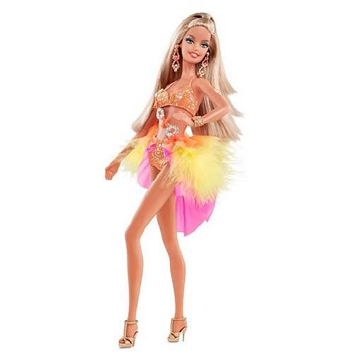 Barbie Dancing with the Stars Samba Doll   Mattel   Barbie   Dolls at 500x500