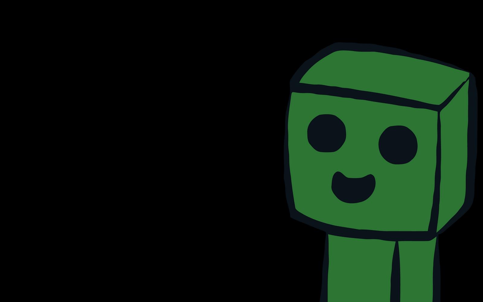 Minecraft Creeper Desktop Backgrounds 1600x1000