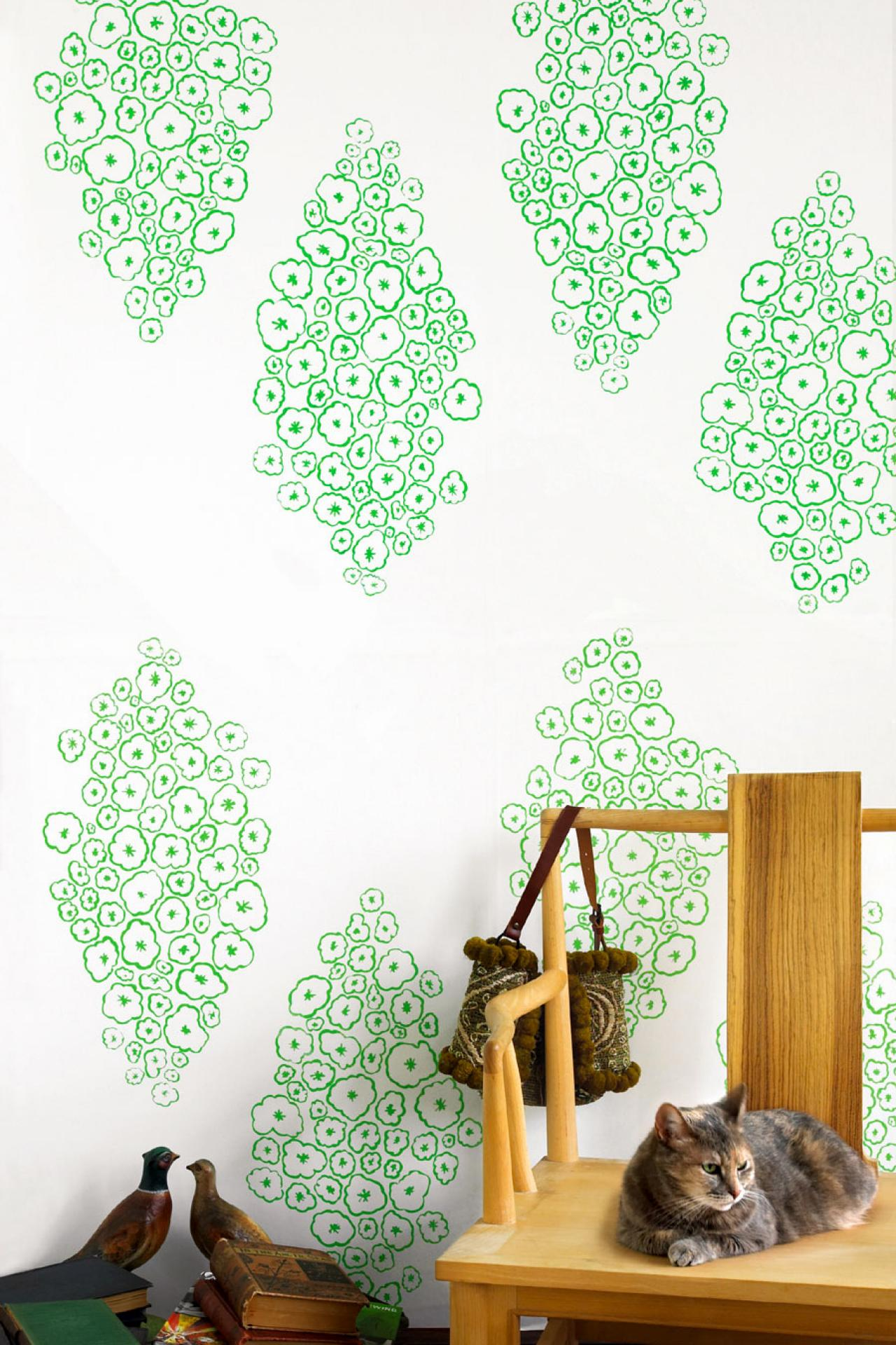 pampered wallpaper use this handprinted design as either a wallpaper 1280x1920
