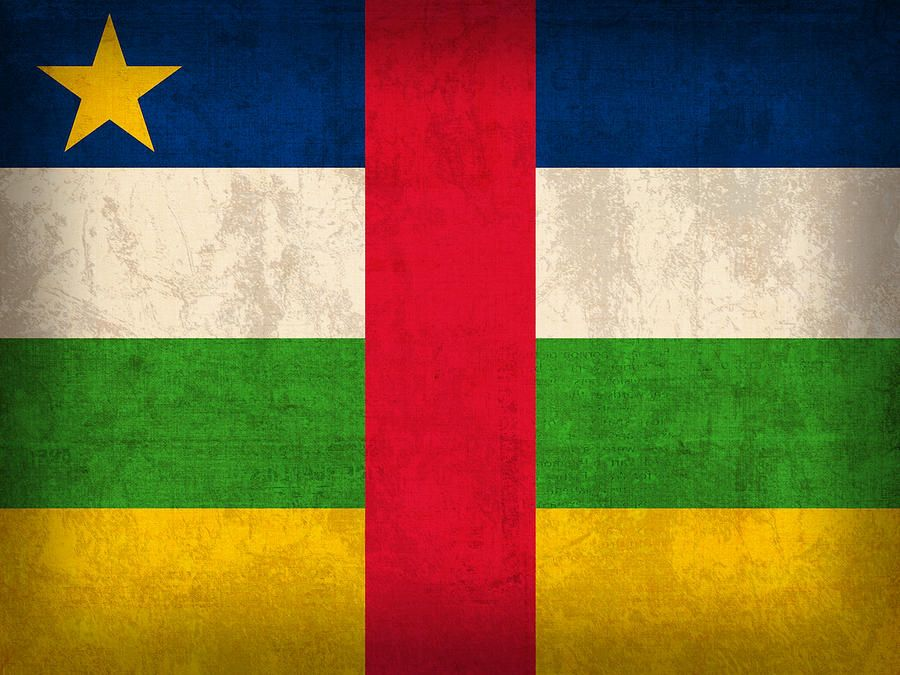Download wallpapers Flag of Central African Republic 4k Africa 900x675