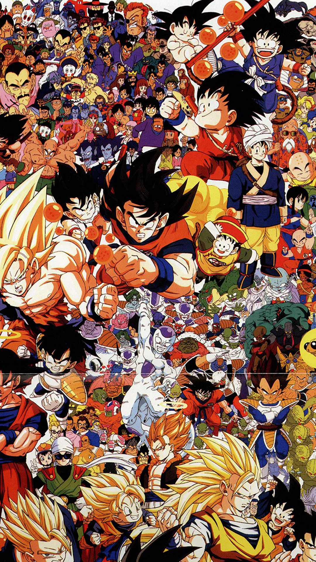 Dragonball Full Art Illust Game Anime Iphone 6 Wallpaper   Iphone 1080x1920