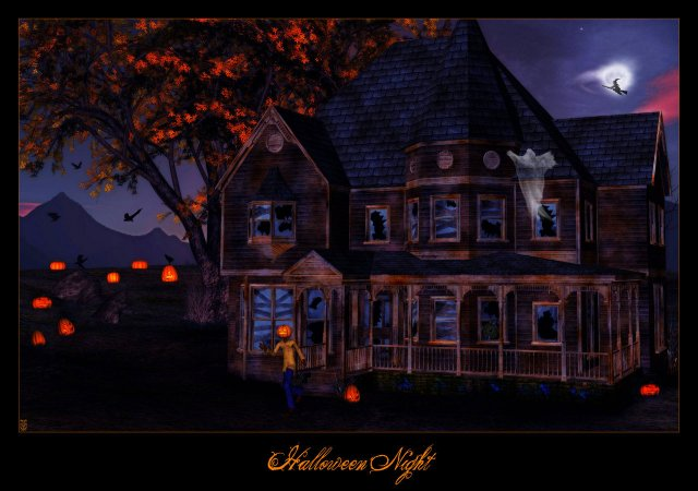 Haunted Houses Wallpaper Haunted House   Haunted Houses   Wallpapers 640x450