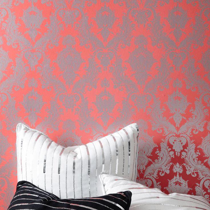 Tempaper Damsel Removable Wallpaper Accent walls Pinterest 736x736