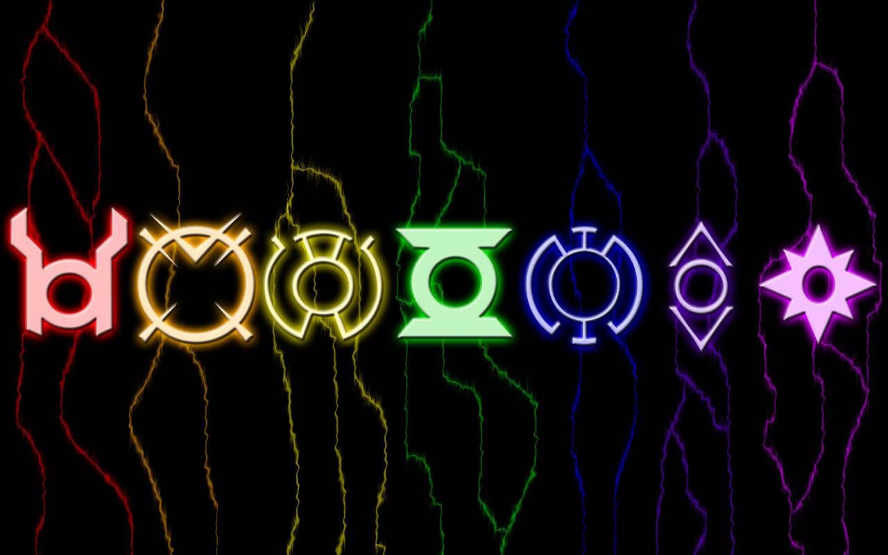 Lantern Corps Desktop Wallpape by archangel fx 1280x800