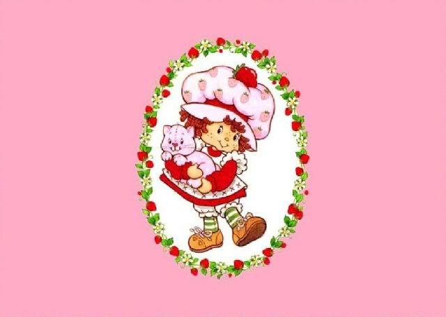 Strawberry Shortcake Backgrounds - WallpaperSafari  Vintage Strawberry Shortcake Wallpaper